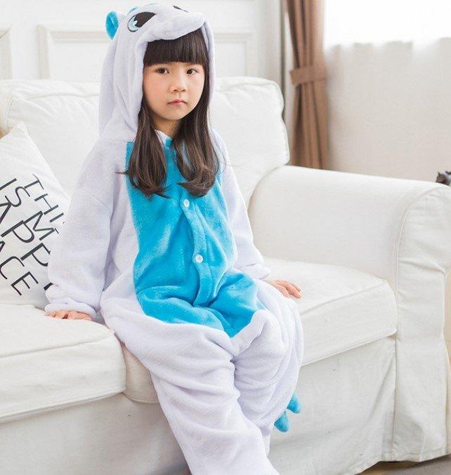 Пижама кигуруми единорог для детей (110 размер (длина изделия до плеч - 95  см  объем груди - 92 см  плечи - 42 см  рукав - 43 b5b1b444b36ed