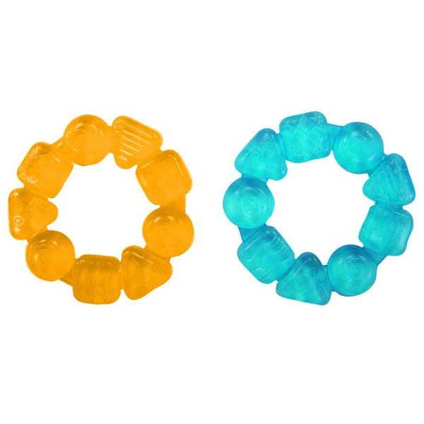 Прорезыватель «Карамельный круг» желтый Bright Starts 10204-1,2,3,4