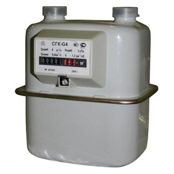 Счетчик газа СГК G-4 (левостор.)