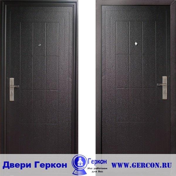 Техническая металлическая дверь ЭКО 13 Входная китайская дверь