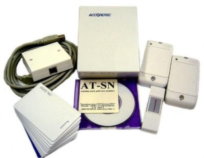 Оборудование системы учета рабочего времени СКУД AccordTec AT-SN net