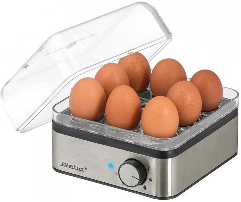 Яйцеварка Steba EK 5 400 Вт серебристый