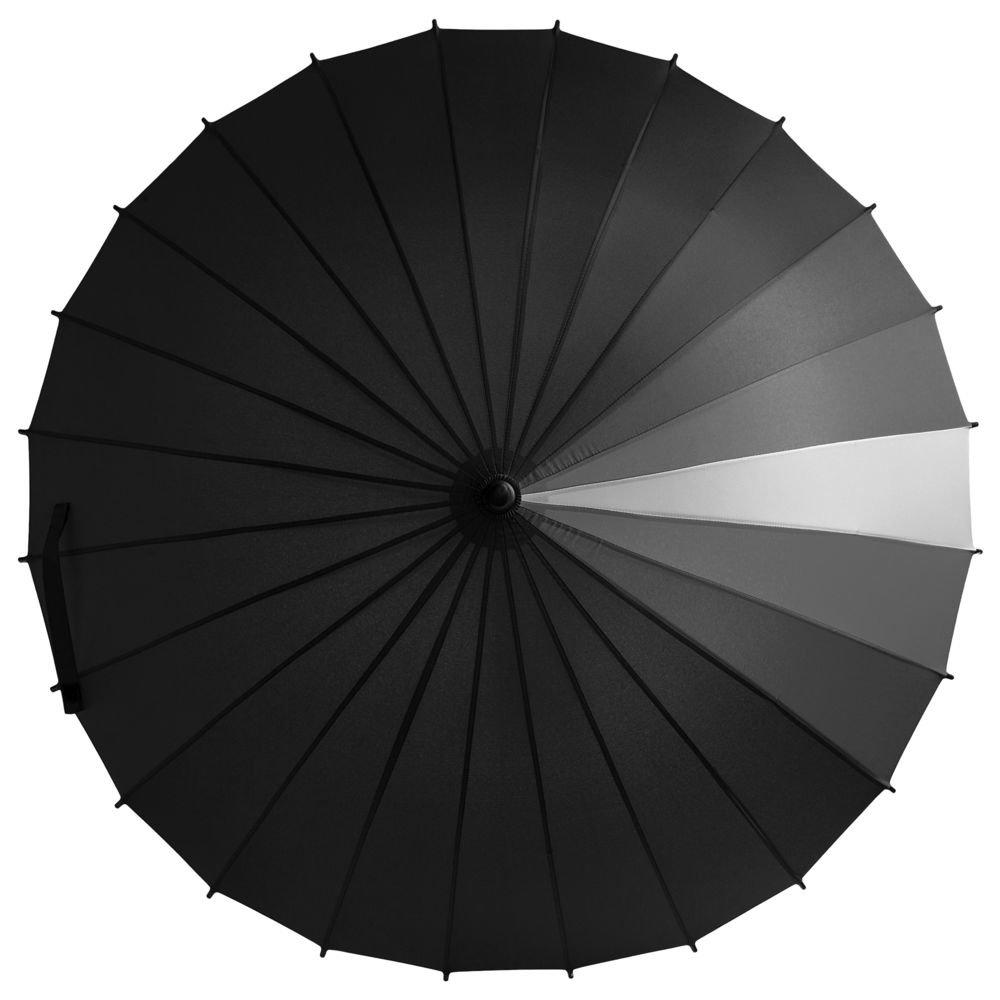 Зонт-трость «Спектр», черный