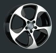 Диски Replay Replica Audi A76 8x18 5x112 ET39 ЦО66.6 цвет BKF - фото 1