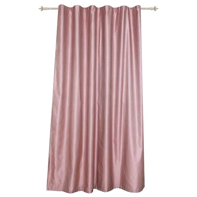 штора на шт.ленте garden жаккард 200х260см дымчато-розовая