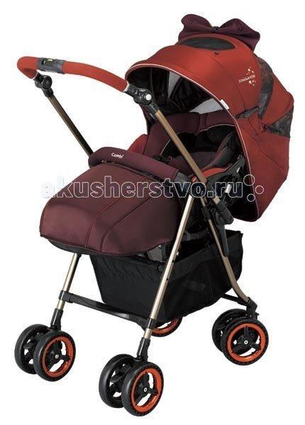 Прогулочная коляска Combi MiracleTurn Elite Orange