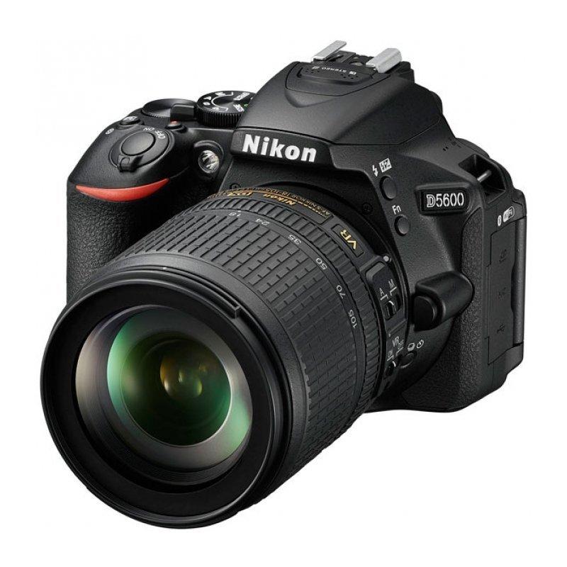 Зеркальный фотоаппарат Nikon D5600 Kit 18-105 VR Black