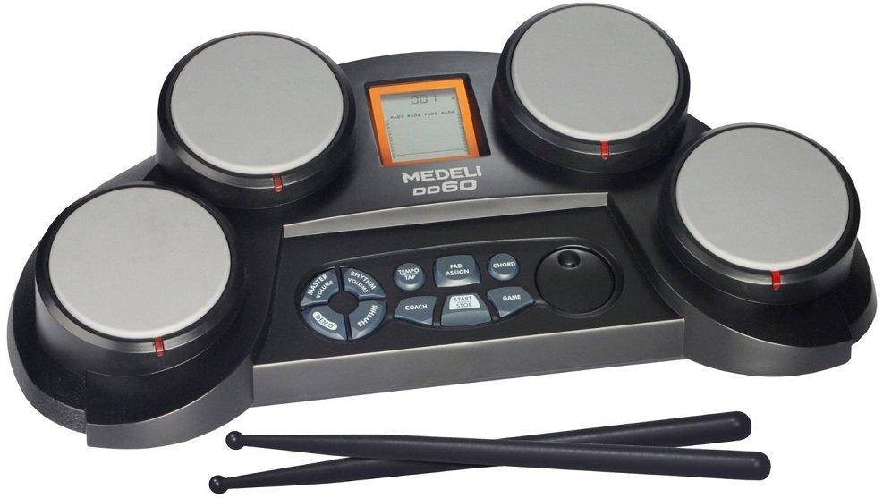 MEDELI DD60 цифровая ударная установка, 4 активных пэда, обучение