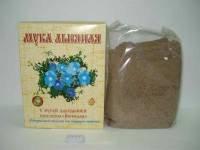 Льняная мука с мукой зародышей пшеницы витазар, 400 г