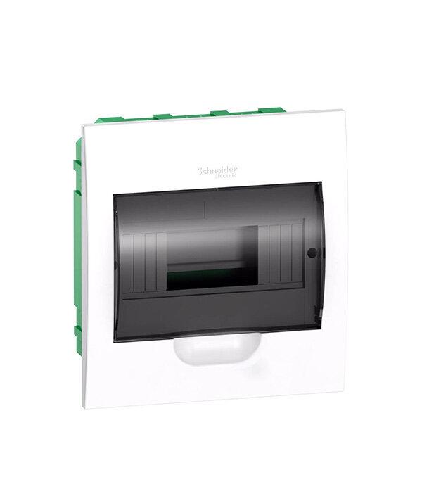 Щит распределительный встраиваемый Schneider Electric Easy9 пластиковый IP40 8 модулей прозрачная дверь