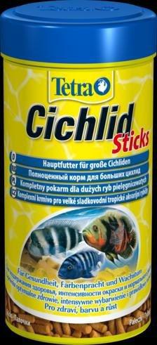 """Корм для цихлид и крупных декоративных рыб """"Tetra Cichlid Sticks"""", 500 мл"""