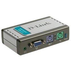 Переключатель d-link kvm-121 переключатель на 2 компьютера кабели в комплекте