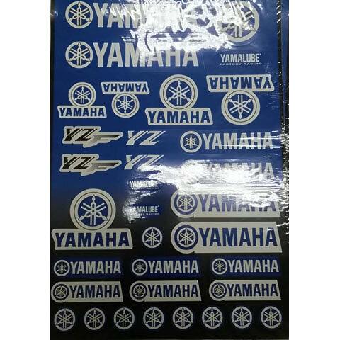 Наклейки LP Yamaha Blue
