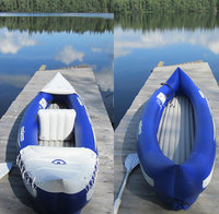 Лодка байдарка надувная SAVANNA, двухместная, 5+6 камер, 292х80см, 2 весла