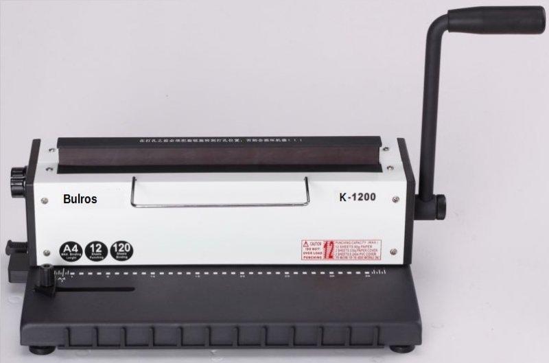 Брошюровщик BULROS K-1200 на металлическую пружину