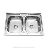 Кухонная стальная мойка SinkLight 8050 0.8/180