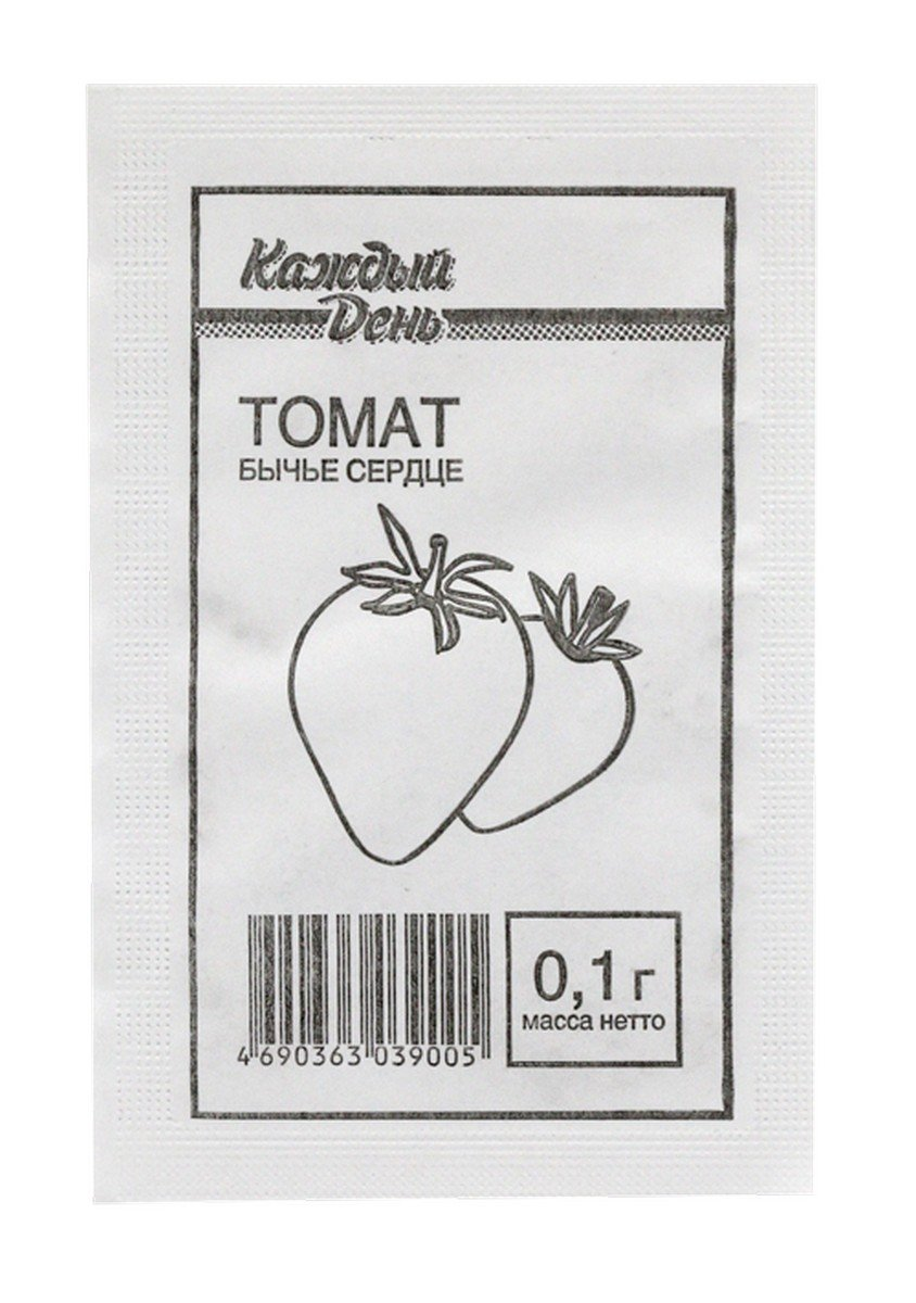 Семена «томат Бычье Сердце», 0.1 г