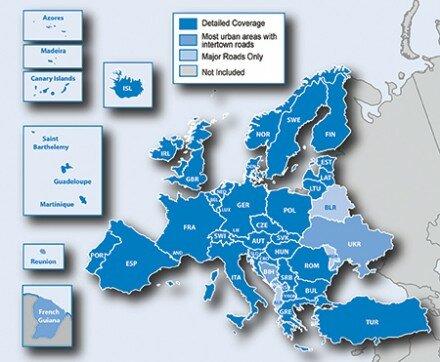 Garmin Карты Гармин Обновление City Navigator Europe NT Карта Европы на microSDSD
