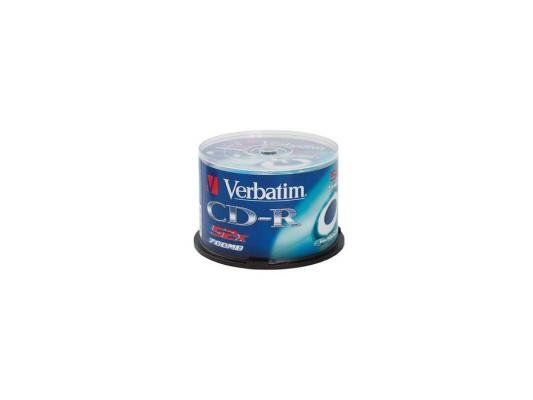 Дискета, диски, кассеты Диски CD-R Verbatim 700Mb 52x CakeBox 100шт (43411)