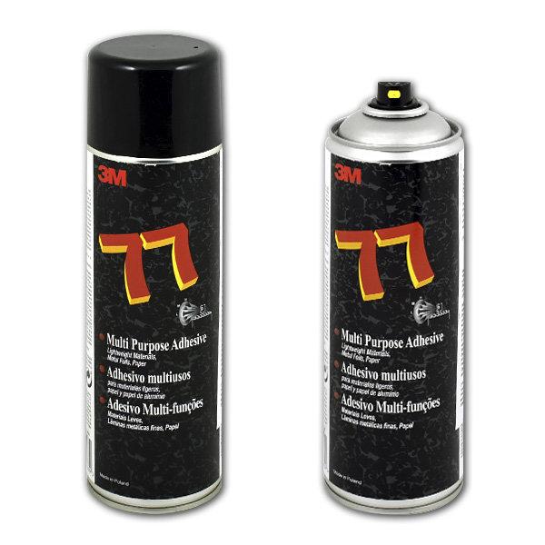 Клей-спрей 3M scotch-weld 77 для ткани, кожи, поролона, картона 500 мл 3м 42448/77