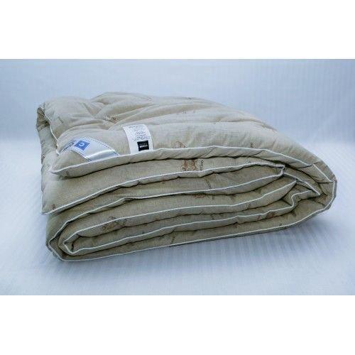 Одеяло из верблюжьей шерсти в тике теплое 200х220