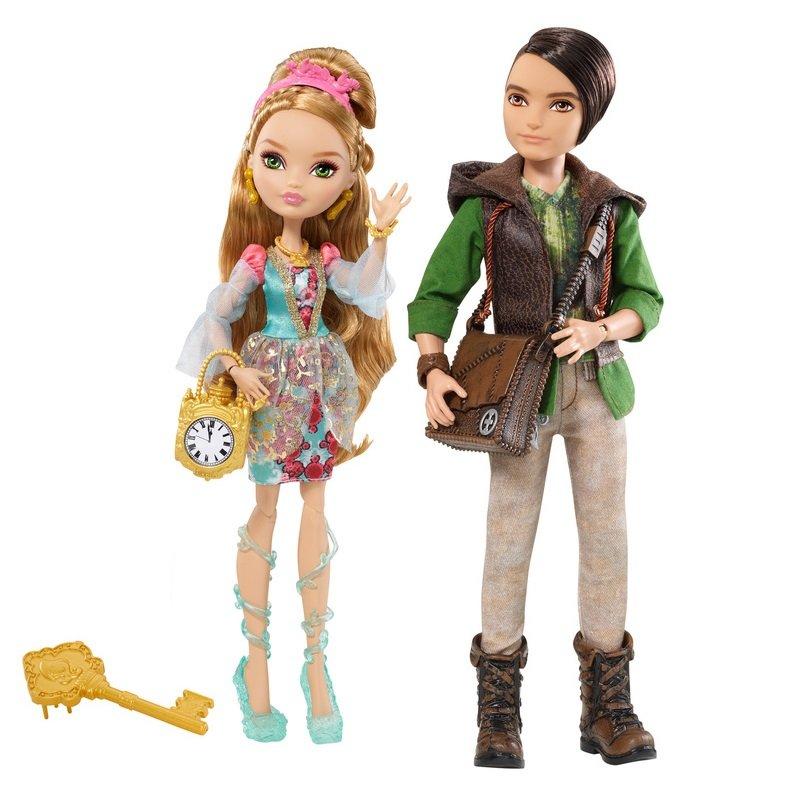 Ever After High Mattel Набор из 2 кукол Эшлин Элла и Хантер Хантсмен - Базовые, Эвер Афтер Хай