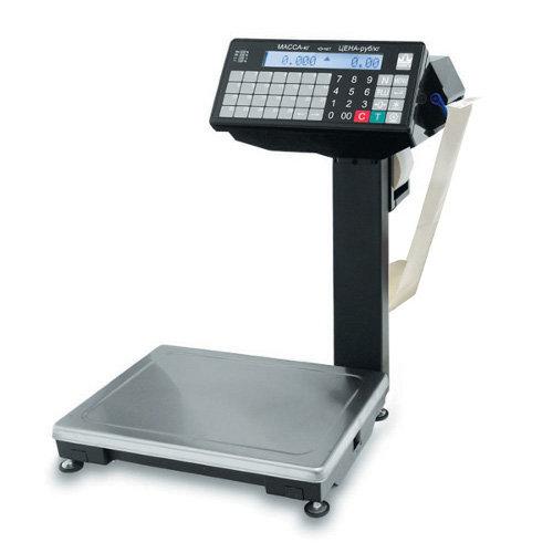 Весы с печатью этикетки масса ВПМ-15.2-Ф1 MF