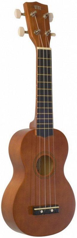 WIKI UK10S NA - гитара укулеле сопрано,клен, цвет натуральный матовый,чехол в компл
