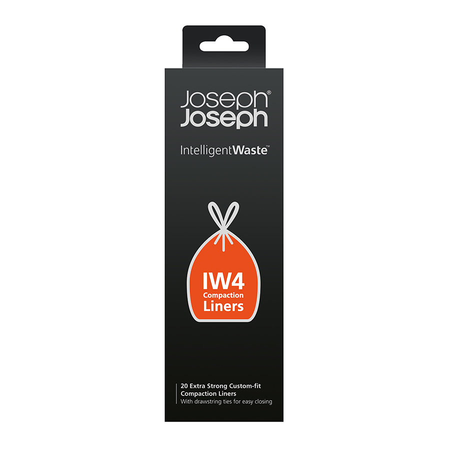 Пакеты для мусора IW4 30л экстра прочные (20 шт) Joseph Joseph