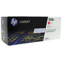CF363X (508X) оригинальный картридж HP Magenta для принтера HP Color LaserJet Enterprise M552dn/ M553dn/ M553n/ M553x, 9500 страниц