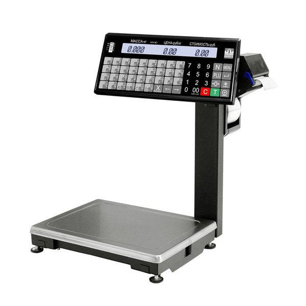 Весы с печатью этикеток ВПМ-15.2-Т