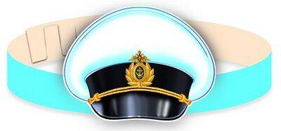 Сфера ТЦ издательство Фуражка моряка. Маска-ободок. (МА-9745 ), арт.00-00007210