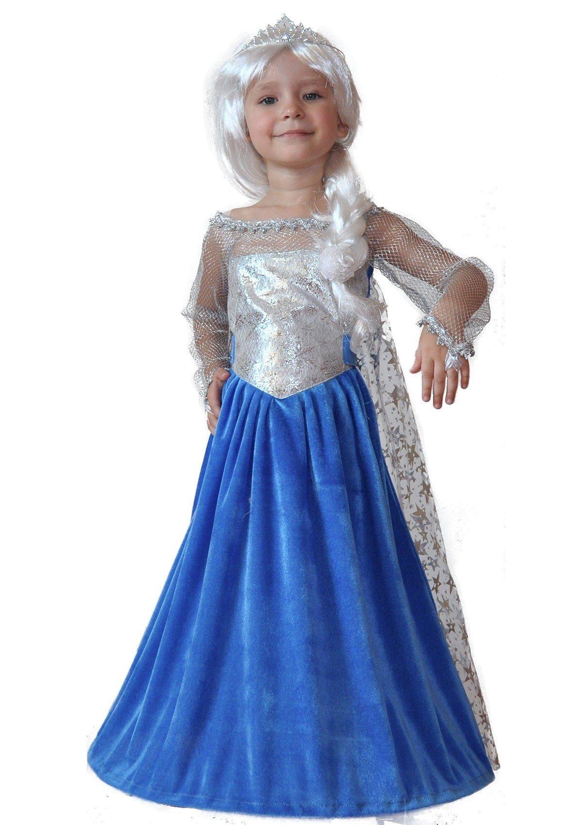 Детский костюм Эльзы из Холодного Сердца (32)