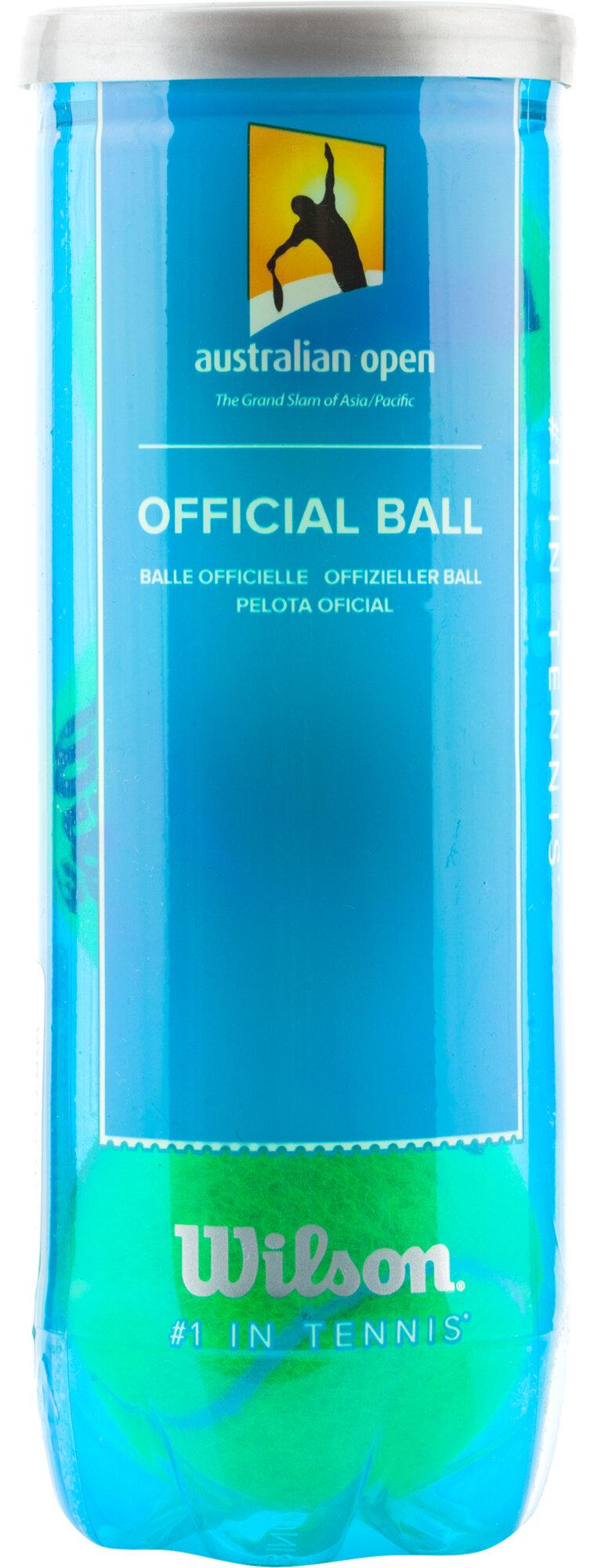Набор теннисных мячей Wilson Australian Open 3 Ball