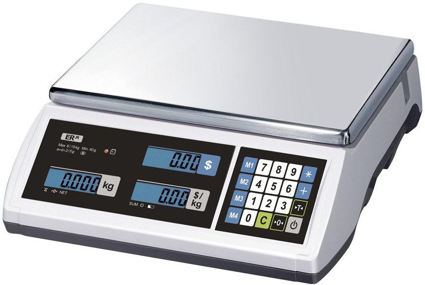 Весы торговые Cas ER-Jr-30CB LT