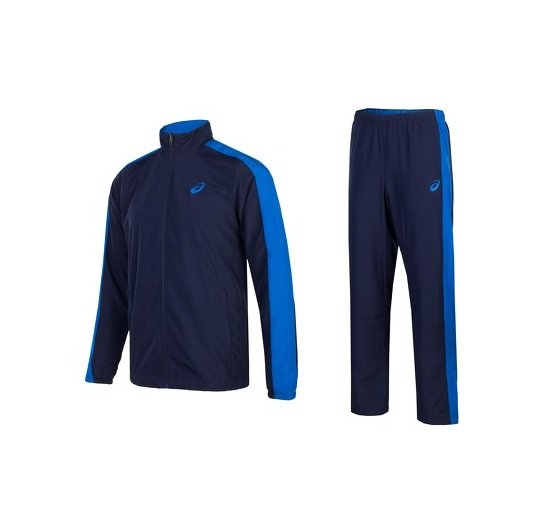 Костюм спортивный Asics Man Poly Suit, темно-синий, 2XL, полиэстер