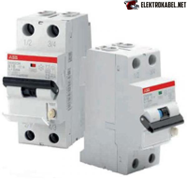 ABB DS201 C16 Диффавтомат 1P 16A (C) 6kA тип AC 30mA (2мод.) (2CSR255040R1164)