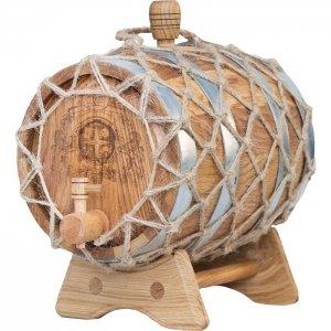 Бочка дубовая «Премиум» (Российский колотый дуб), 5 литров