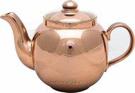 """Чайник заварочный фарфоровый 600 мл. """"медь"""""""