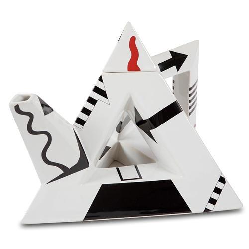 """Чайник """"пирамидная абстракция"""""""