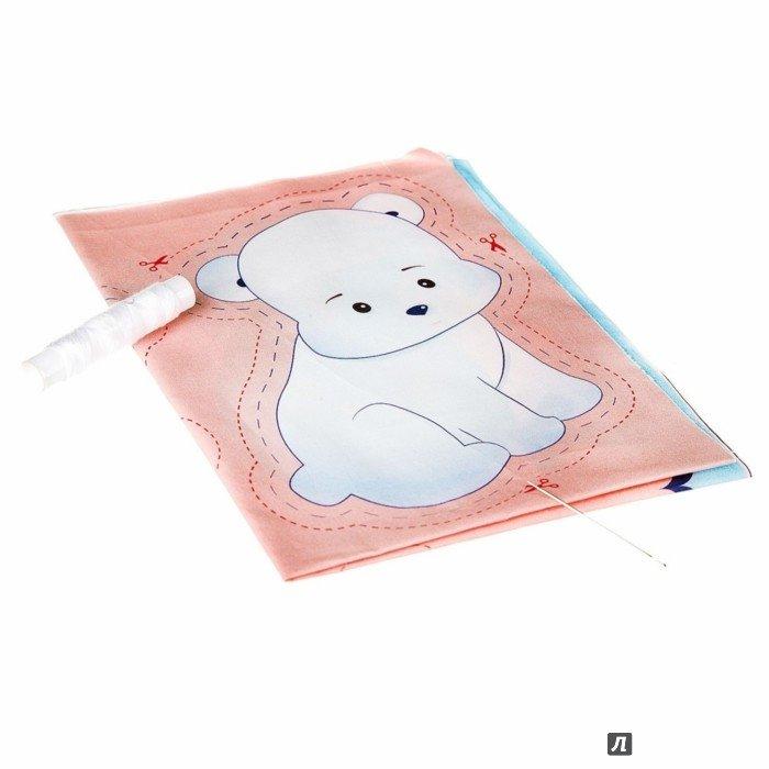 Набор для шитья BONDIBON полярный мишка и кит