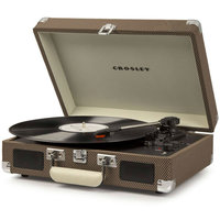Виниловый проигрыватель CROSLEY CRUISER DELUXE c Bluetooth (CR8005D) (Tweed)
