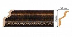 Плинтус потолочный Декомастер Ионика 148D-56 (45*30*2400мм)