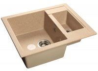 Кухонная мойка GranFest Quadro GF-Q610K песочный
