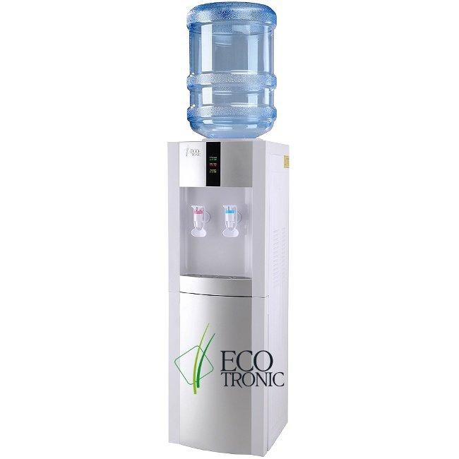 Кулер для воды Ecotronic напольный H1-LN white-silver