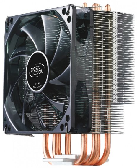 Кулер/Система охлаждения Deepcool GAMMAXX 400 [Для процессора/1 вентилятор 120 мм/900-1500 об/мин/21.4-32.1 дБ]