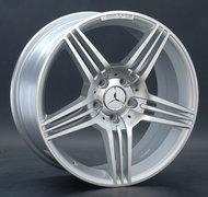 литой колесные диски Replica Mercedes (MB74) 9.5x19 ET28 PCD5*112 (Серебро полностью полированный) DIA 66.6 - фото 1