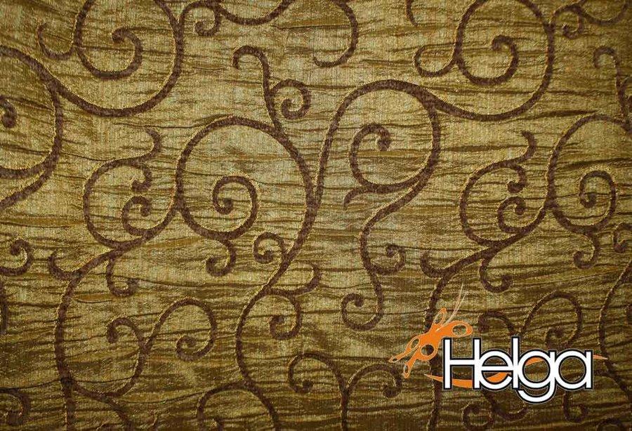 Ткань портьерная Др-Деко 535457 v8 жаккард коричневая портьера ткань