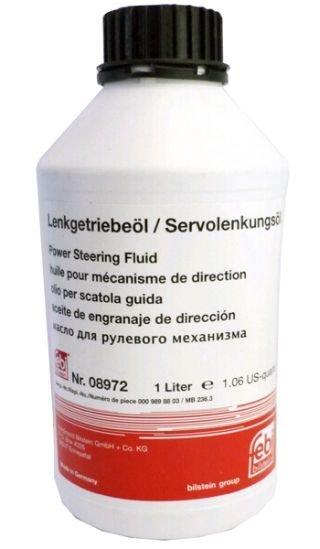 Жидкость гидроусилителя FEBI 08972 Жидкость ГУР минеральная желтая 1л