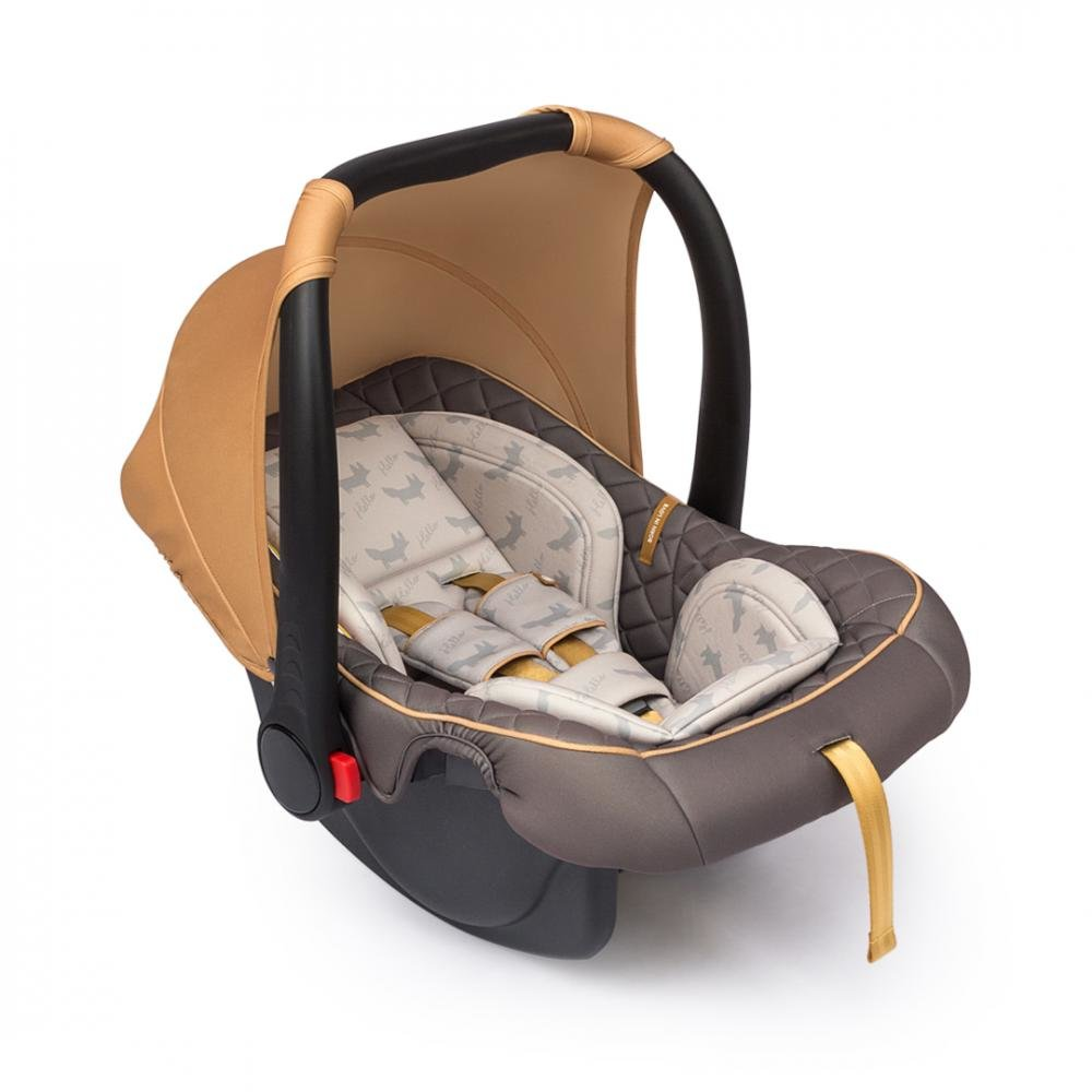 Happy baby автокресло skyler v2 гр.0+ brown
